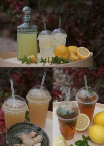 Handcrafted iced drinks